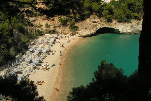 Spiaggia di Mattinata, Gargano