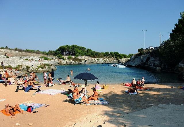 Porto Badisco, spiaggia