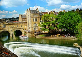 Visita a Bath, le terme d'Inghilterra