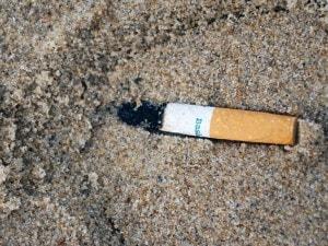 Verso una spiaggia senza fumo.
