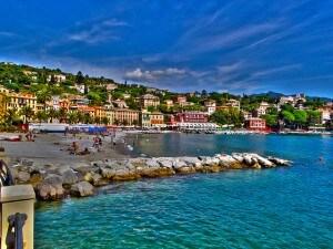 Tra le Vele Blu 2014 bene ancora una volta la Liguria. In alto Santa Margherita Ligure.