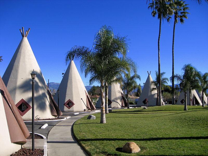 Negli Usa con i bambini alla scoperta degli indiani: il Wigwam Motel.