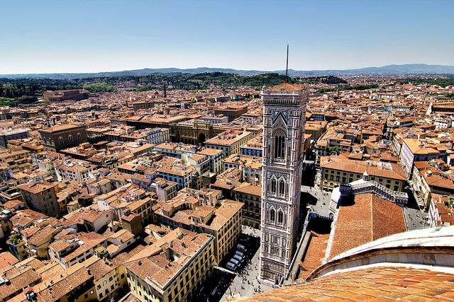 Firenze dalla Cupola del Brunelleschi