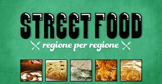 Lo street food più popolare regione per regione (INFOGRAFICA)