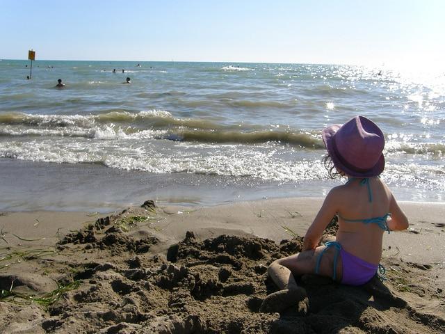 Spiaggia di Marina di Grosseto. Foto di Simone Ramella