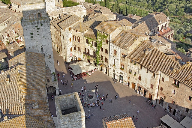 San Gimignano dalla Torre Grossa