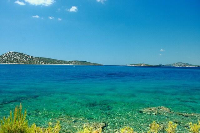 Le Isole Kornati viste Prvic – Foto di dmytrok