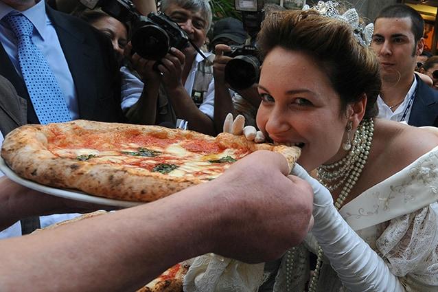 La pizza della regina: la margherita.