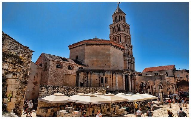 Palazzo di Diocleziano e centro storico – Foto da Flickr