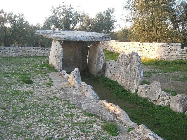 Dolmen della Chianca (Foto di Geppi Simone)