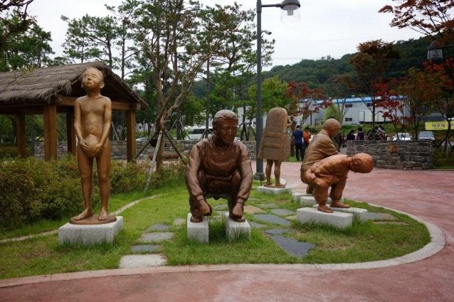 Parco a tema sulle toilette in Corea del Sud