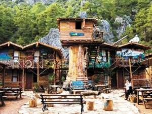 Kadir's Tree Houses, Turchia