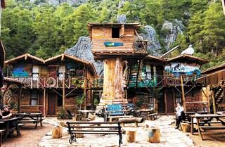 La casa sull'albero che è un ostello: il Kadir's Tree Houses in Turchia
