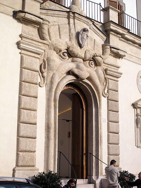 Palazzetto Zuccari, Roma. Foto da Wikipedia