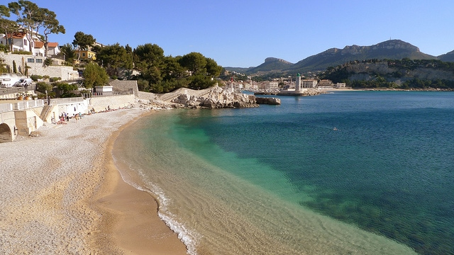 Spiaggia di Cassis. Foto di el–meister