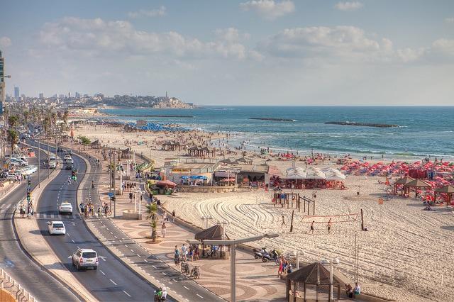 Spiaggia di Giaffa. Foto di israeltourism