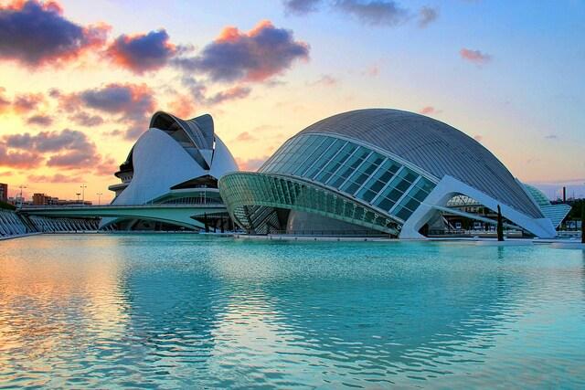 Città dell'arte e della scienza – Foto di Palasson
