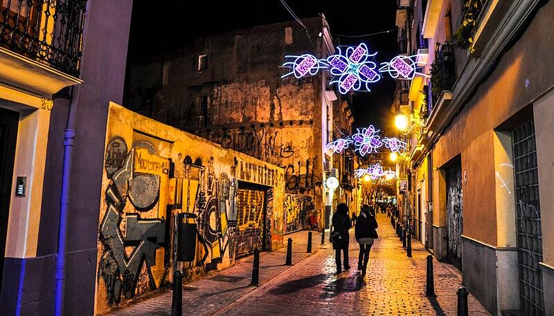 Barrio del Carmen – Foto di keith ellwood