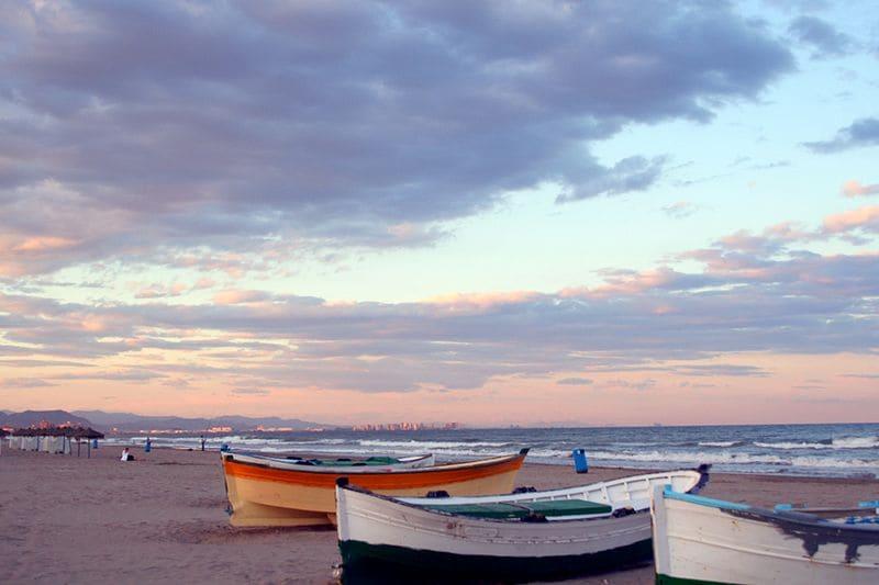 Playa de El Cabanyal – Foto di Manuel M.