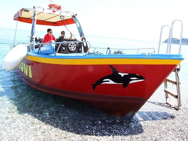 Taormina e le escursioni in barca. Foto di gnuckz