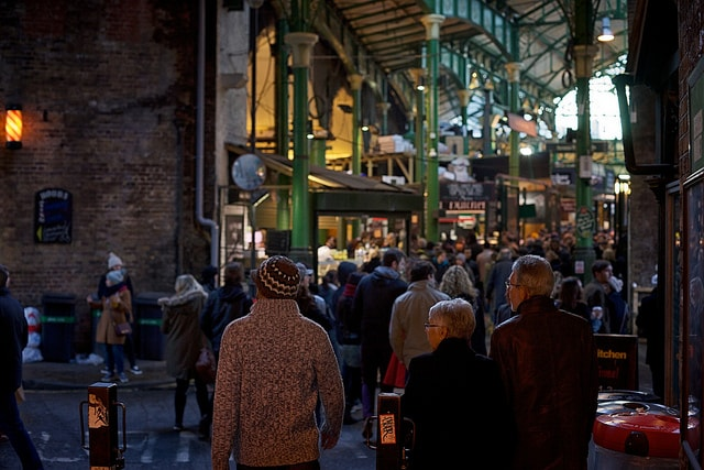 Borough Market. Foto di Paul Hudson