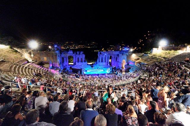 Concerto al teatro antico di Taormina. Foto di gnuckz