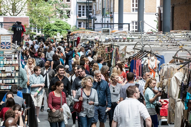 Old Spitalfields Market. Foto di Spitalfields_E1