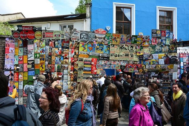 Portobello Road Market. Foto di Martin Pettitt
