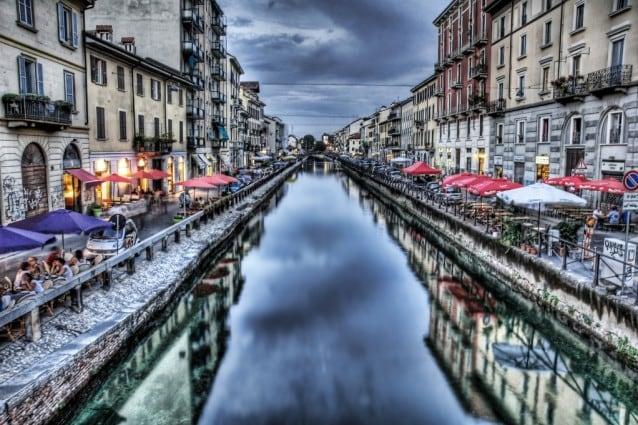 I Navigli di Milano.