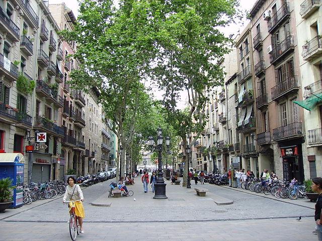 Born, Barcellona. Foto da Wikipedia.