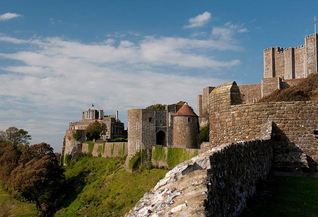 Dover Castle. Foto di Graham Dean