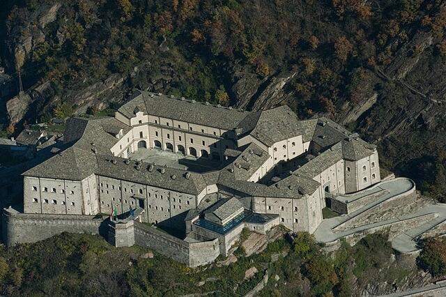 Forte di Bard. Foto di Giulio Crivellari