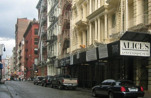 Soho, New York. Foto da Wikipedia.