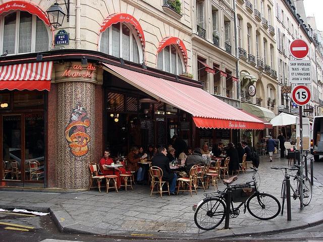 Saint–Germain–des–Pres. Foto di Sergio Calleja.