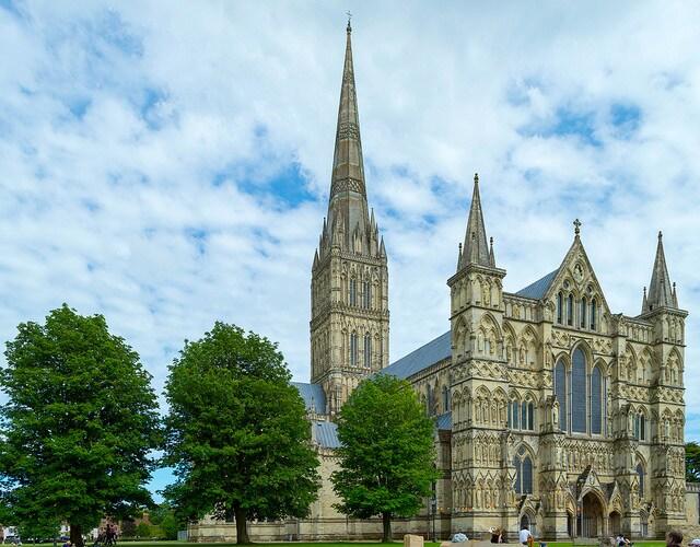Cattedrale di Salisbury. Foto di Jack Pease