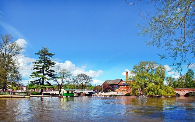 Il fiume Avon. Foto di brianac37