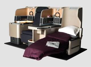 Quanto lusso nella nuova business class di Qantas (FOTO)