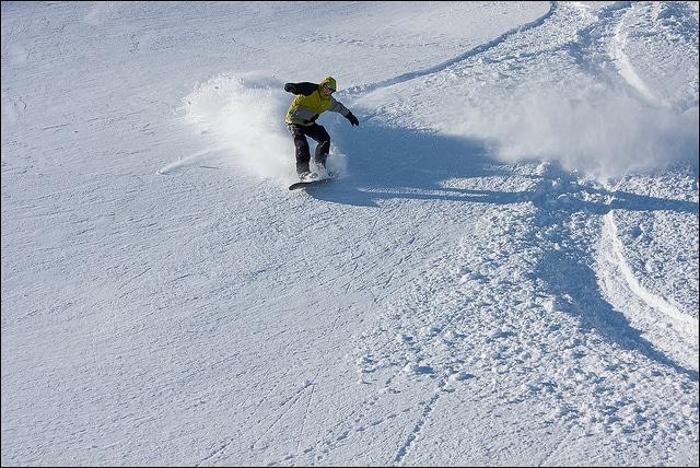 Snowboard nelle Marche