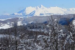 Sciare nel Lazio, dove la montagna non lascia andare la neve