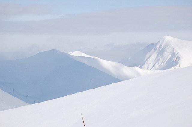 Neve sui monti del Lazio