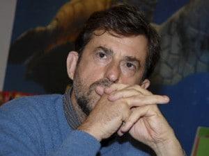moretti presenta il film il caimano
