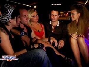fiammetta e i tamarri in limousine