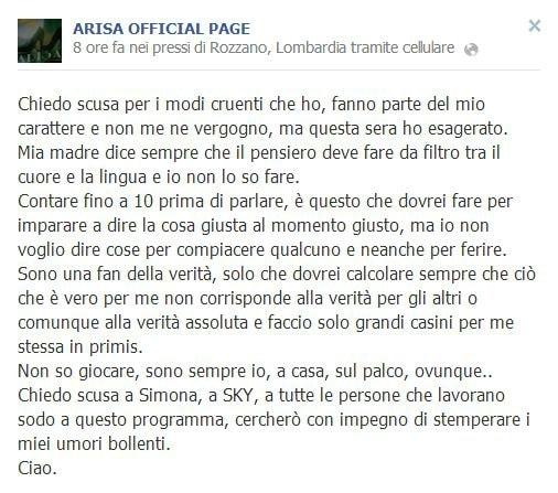facebook arisa
