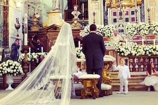 Dopo il matrimonio di Valeria Marini è polemica sulla bestemmia in diretta tv