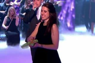 Uova marce per Simon Cowell alla finale di Britain's Got Talent