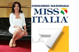 Miss Italia verso La7 in direzione Jesolo