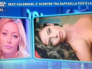 Raffaella Calendario.Karina Cascella Cara Raffaella Fico Fare Un Calendario