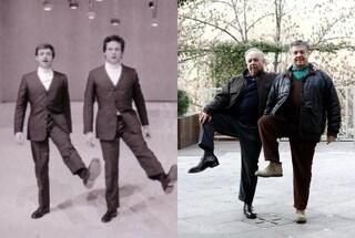 Il ritorno di Cochi e Renato, festa a teatro per i 50 anni di carriera (FOTO)
