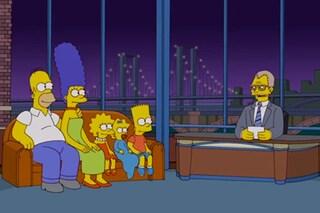 I Simpson salutano David Letterman con una sigla dedicata a lui (VIDEO)