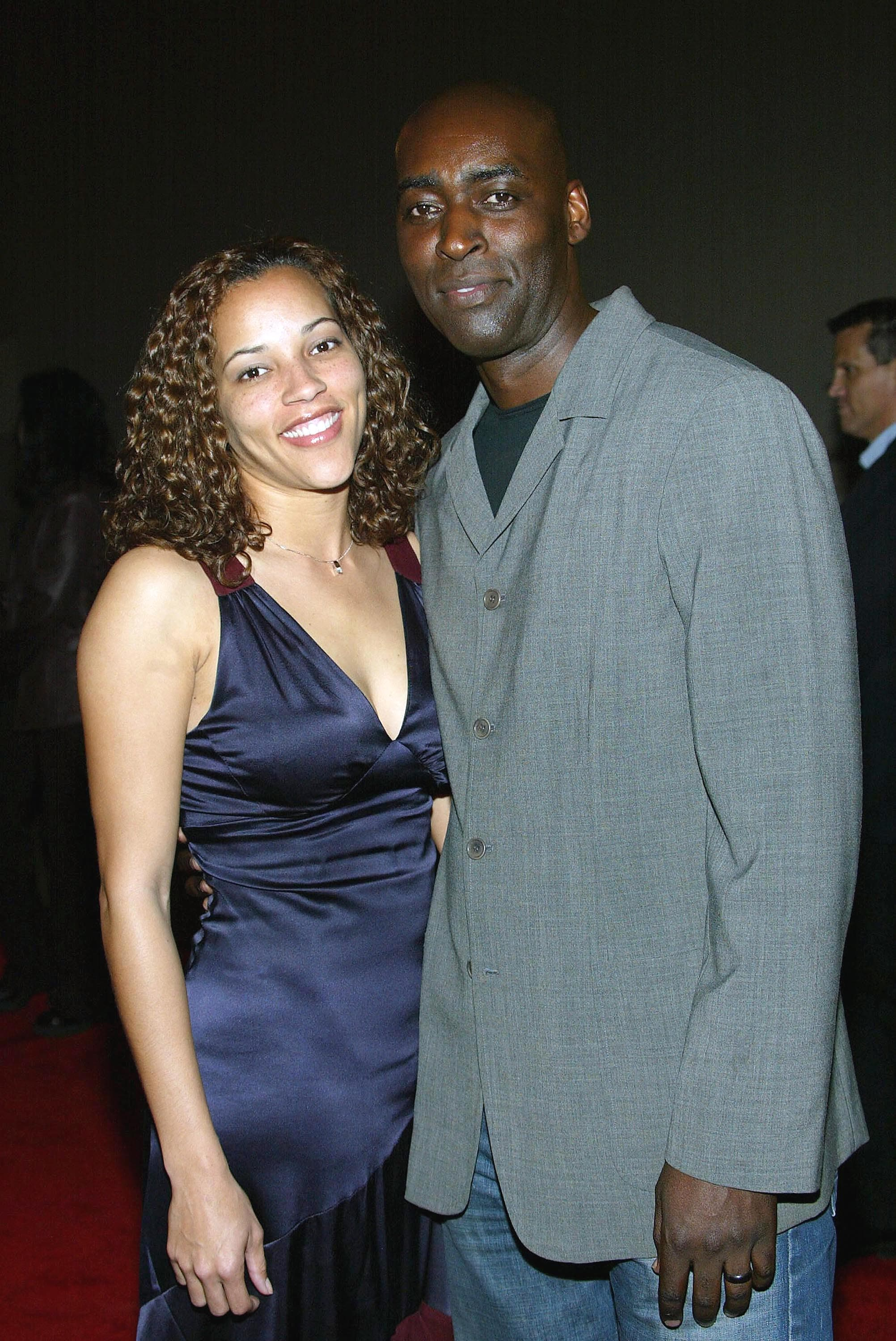 Michael Jace e la moglie April
